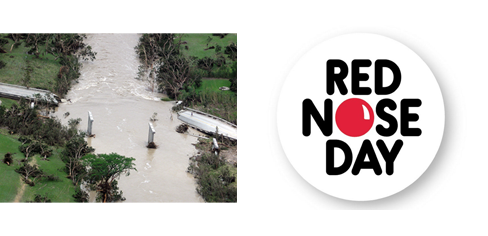 Donations made to Wimberley & Red Nose Day