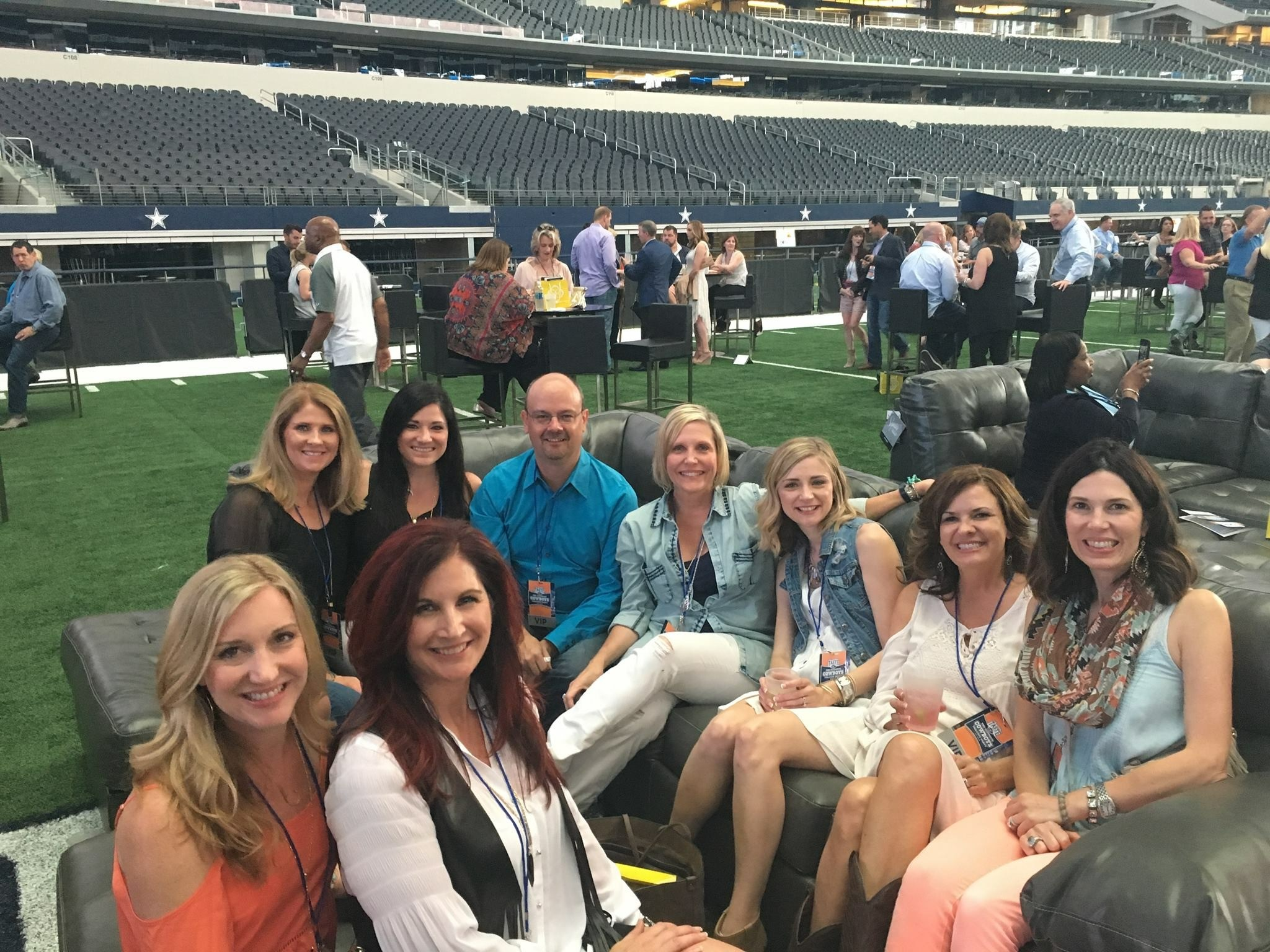 The CFO Suite Sponsors Taste of the NFL