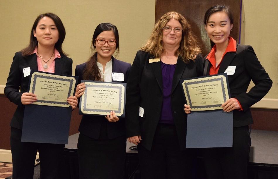 CFO Suite's 2016 UT of Arlington Scholarship Recipients