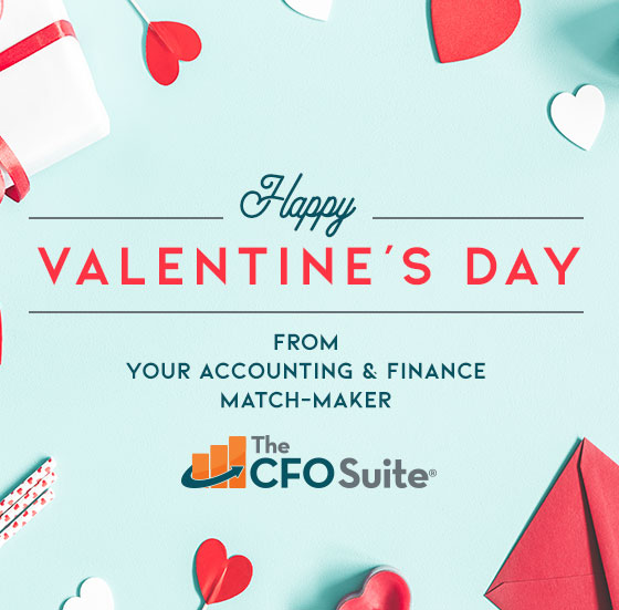 Love is in the air at The CFO Suite